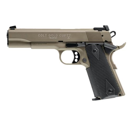 WALTHER Model: Colt 1911 Gold Cup FDE 12-shot