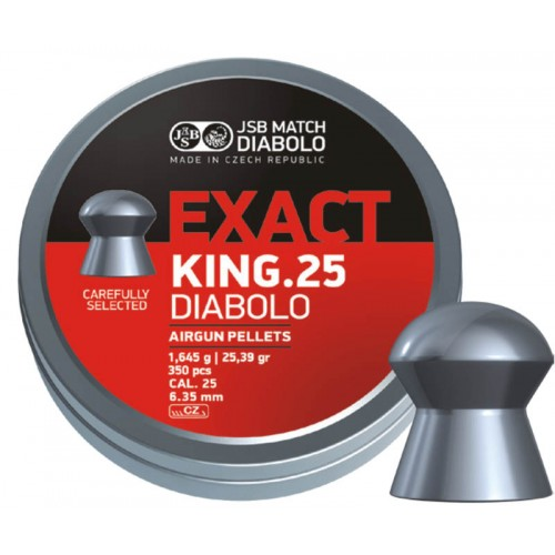 JSB EXACT King .25 – 6,35mm