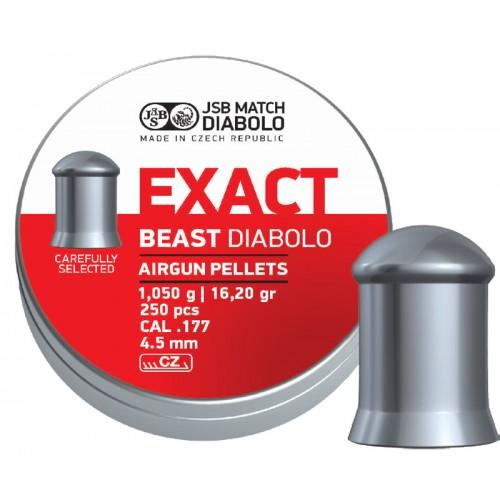JSB – Exact Beast 4,52mm 1,05g/16,2gr