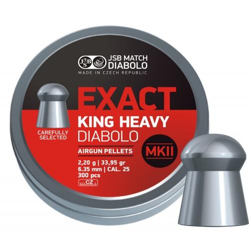 JSB EXACT King Heavy MKII.25 – 6,35mm