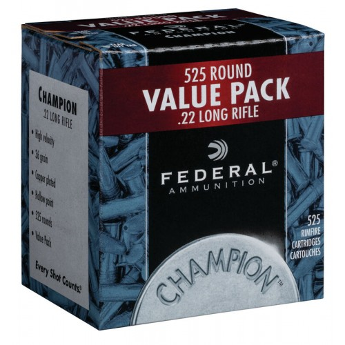 Federal Champion Value Pack .22lr
