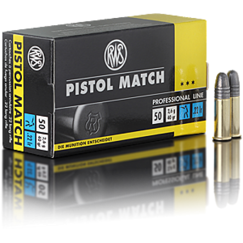 RWS Pistol Match .22lr
